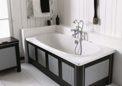 Windsor luxury double ended bath