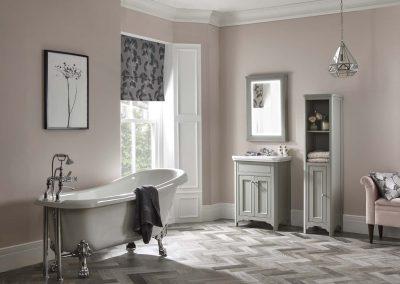 langham 600 basin unit with bath lifestyle landscape